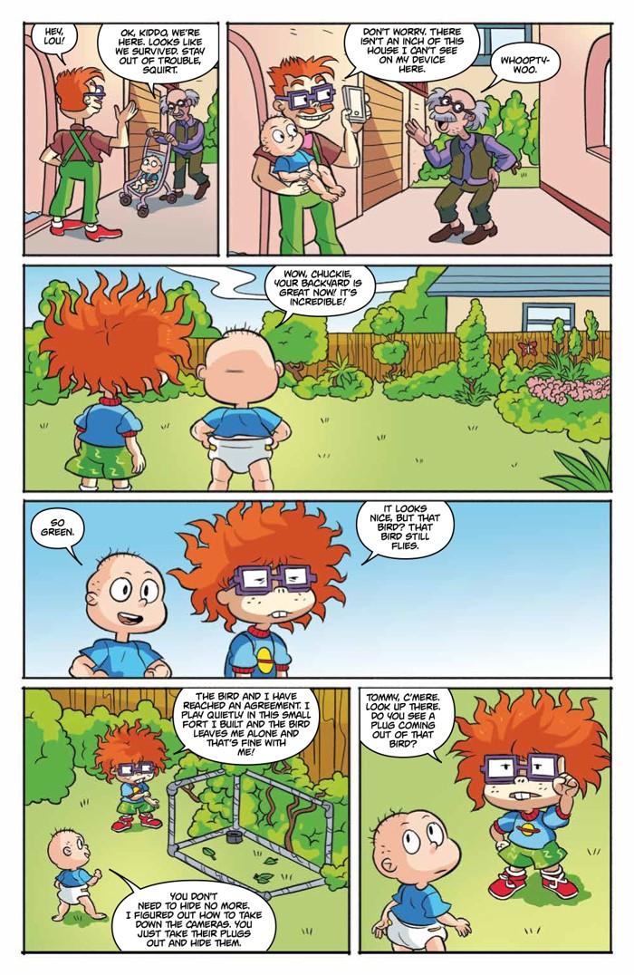 Comiclist Previews Rugrats 3