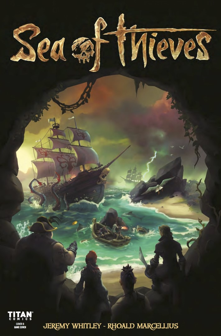 Sea_of_Thieves_1_Cover B ComicList Previews: SEA OF THIEVES #1
