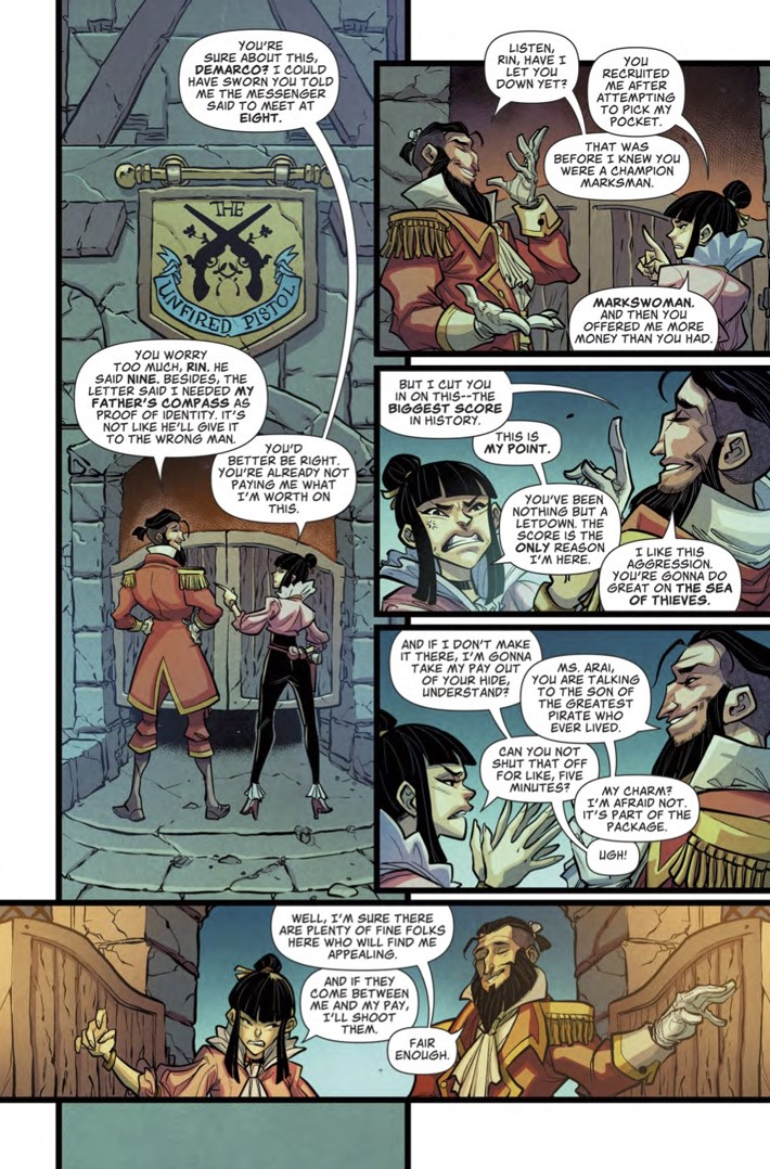 Sea_of_Thieves_1_Page 1 ComicList Previews: SEA OF THIEVES #1