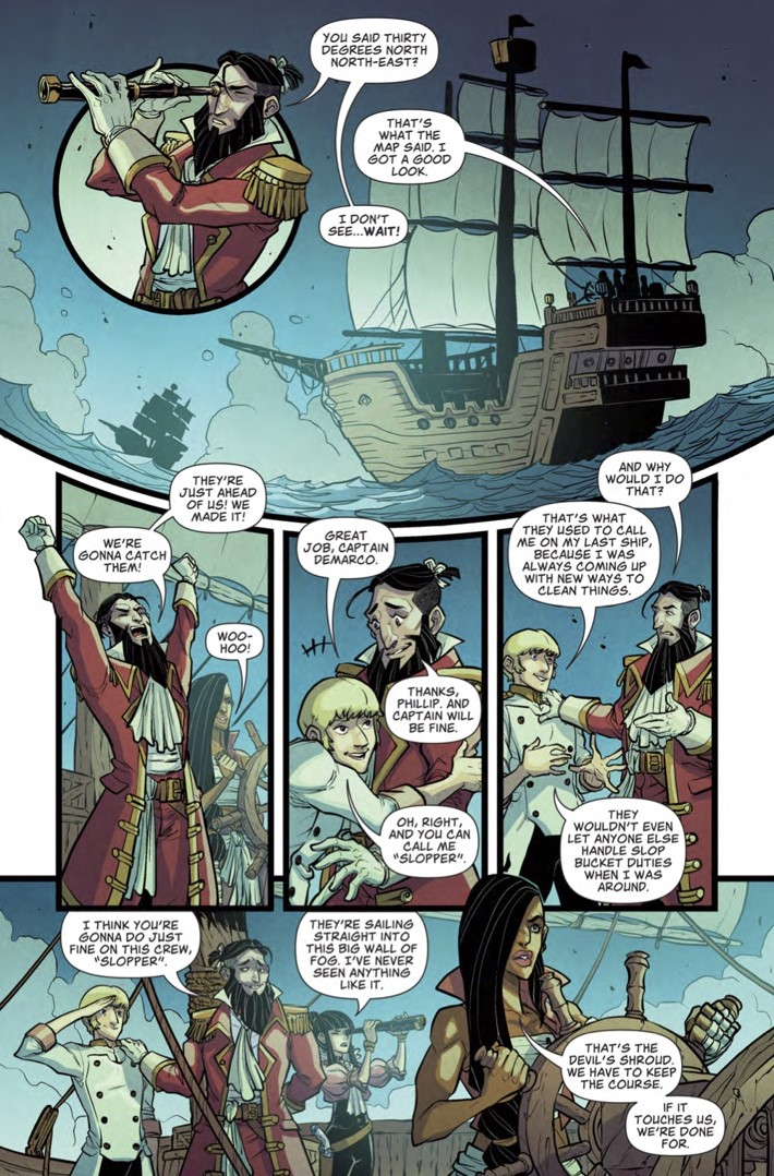 Sea_of_Thieves_1_Page 5 ComicList Previews: SEA OF THIEVES #1