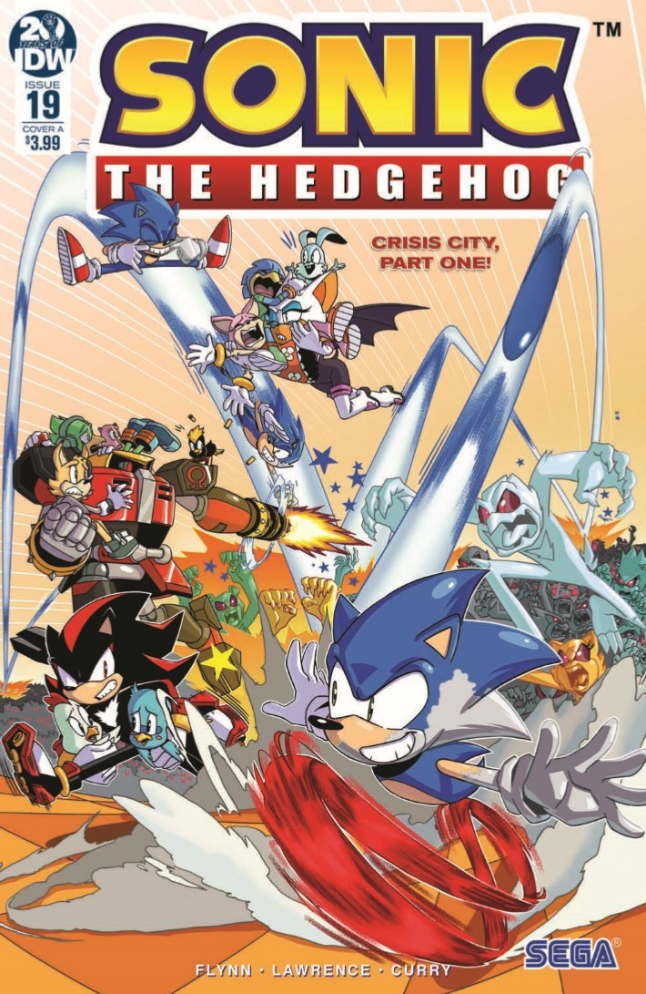 Comiclist Previews Sonic The Hedgehog 19