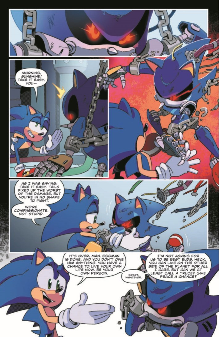 comiclist previews sonic the hedgehog