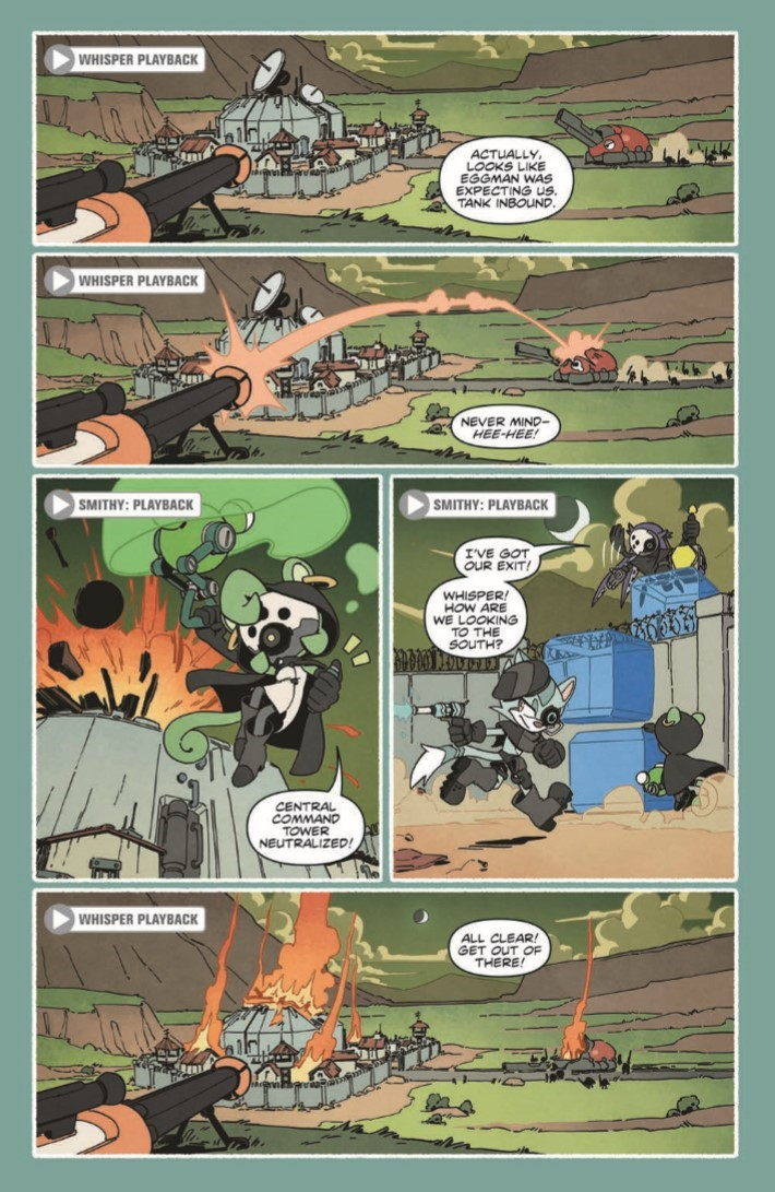Comiclist Previews Sonic The Hedgehog Tangle And Whisper 3