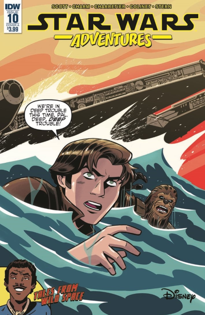 StarWras_Adventures_ 10-pr-1 ComicList Previews: STAR WARS ADVENTURES #10