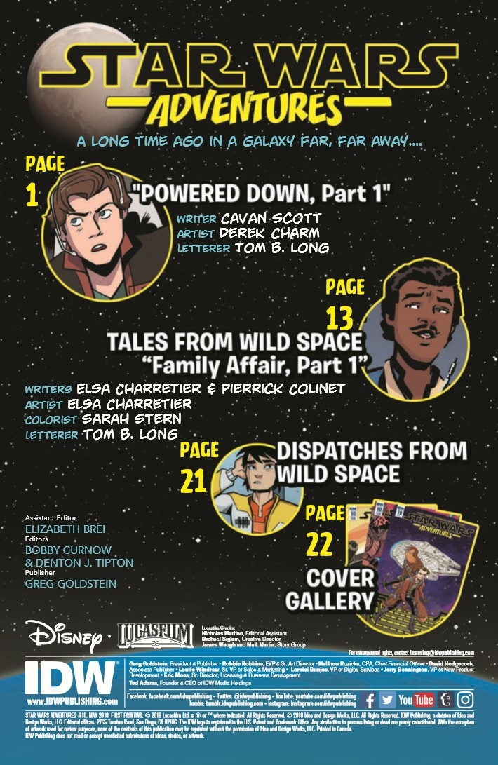 StarWras_Adventures_ 10-pr-2 ComicList Previews: STAR WARS ADVENTURES #10