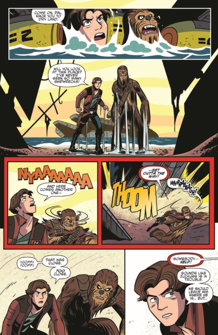 StarWras_Adventures_ 10-pr-7 ComicList Previews: STAR WARS ADVENTURES #10