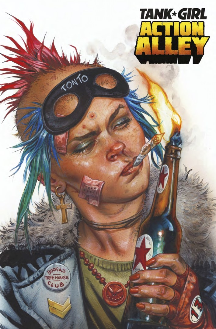 comiclist previews tank girl action alley