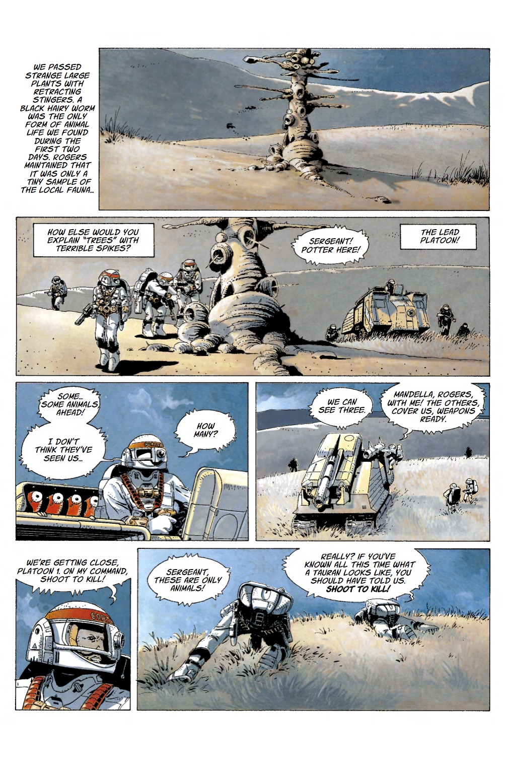 comiclist preview the forever war 2