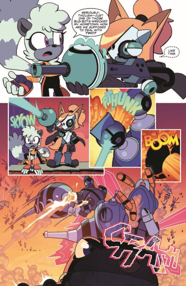 Comiclist Previews Sonic The Hedgehog Tangle And Whisper 4