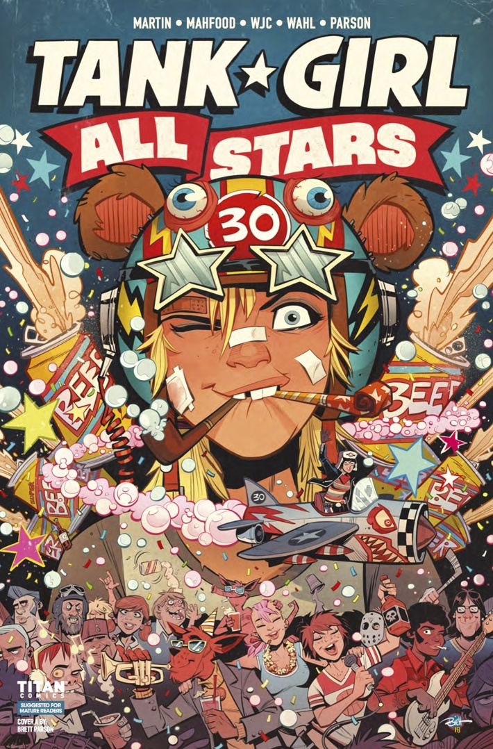 Tank_Girl_All_Stars_1_Cover A ComicList Previews: TANK GIRL ALL STARS #1