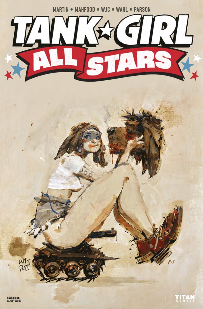 Tank_Girl_All_Stars_1_Cover B ComicList Previews: TANK GIRL ALL STARS #1