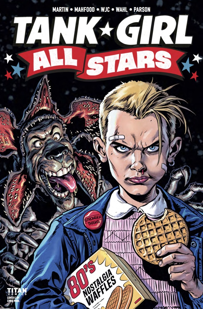Tank_Girl_All_Stars_1_Cover C ComicList Previews: TANK GIRL ALL STARS #1
