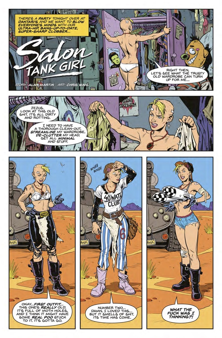 Tank_Girl_All_Stars_1_Page 1 ComicList Previews: TANK GIRL ALL STARS #1