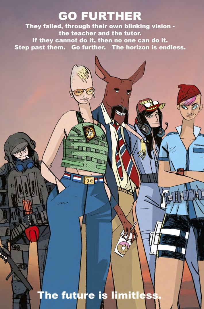 Tank_Girl_All_Stars_1_Page 3 ComicList Previews: TANK GIRL ALL STARS #1