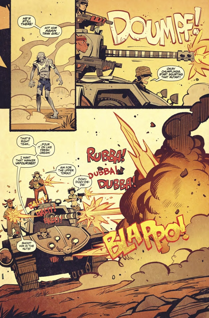 Tank_Girl_All_Stars_1_Page 5 ComicList Previews: TANK GIRL ALL STARS #1