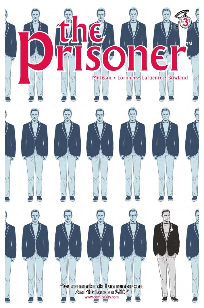 The_Prisoner_3_lowres_Cover A ComicList Previews: THE PRISONER #3