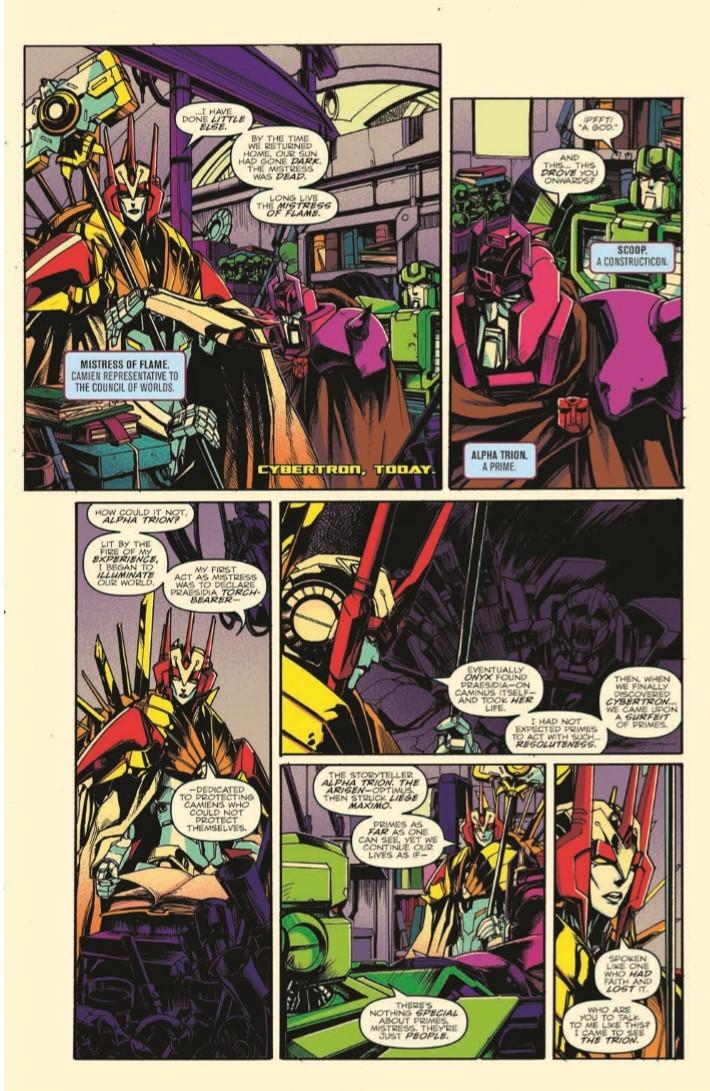 Transformers_Optimus_Prime_Vol04-pr-8 ComicList Previews: TRANSFORMERS OPTIMUS PRIME VOLUME 4 TP