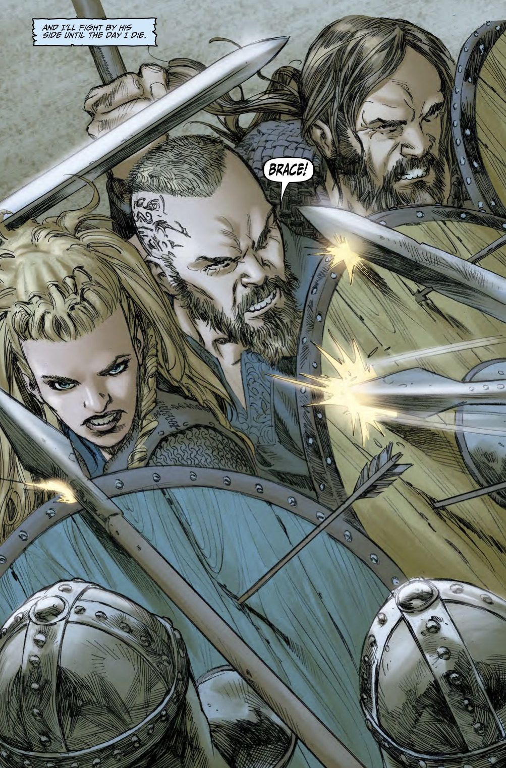 Gold For Sale >> ComicList Preview: VIKINGS GODHEAD TP