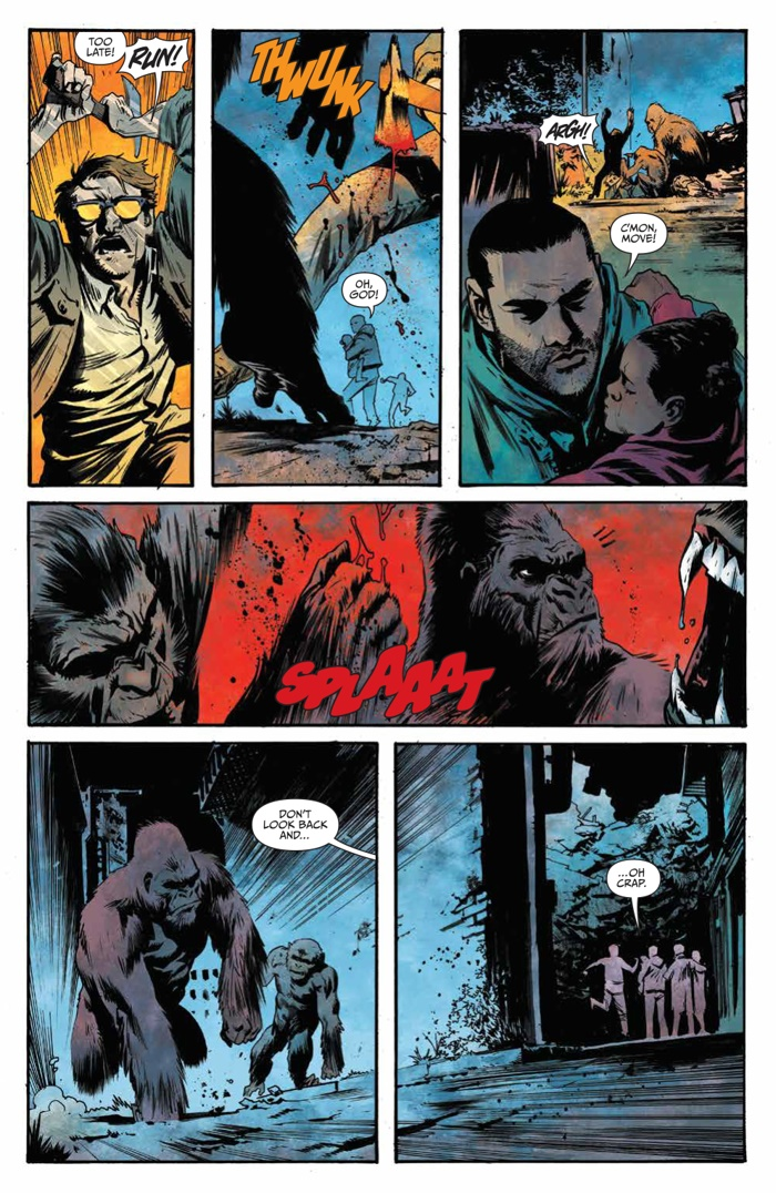 ComicList Preview: WAR FOR THE PLANET OF THE APES #1
