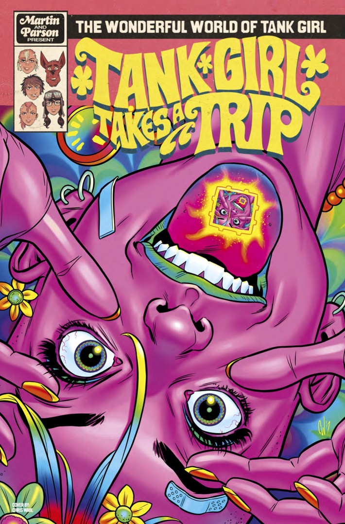 Wonderful_World_of_Tank_Girl_4_Cvr B ComicList Previews: THE WONDERFUL WORLD OF TANK GIRL #4