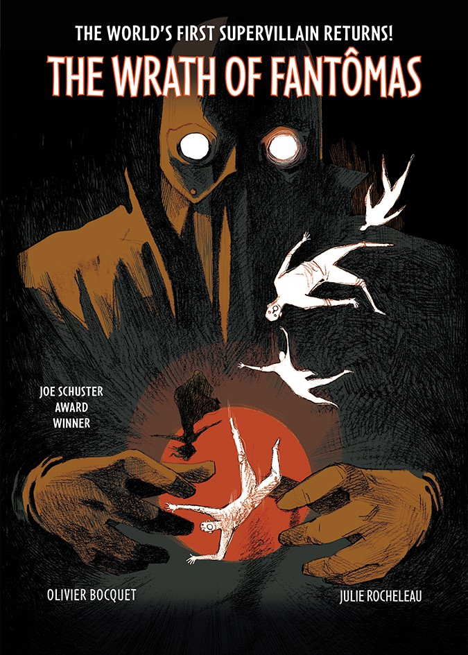 Wrath of Fantomas Collection Cover ComicList Previews: THE WRATH OF FANTOMAS HC