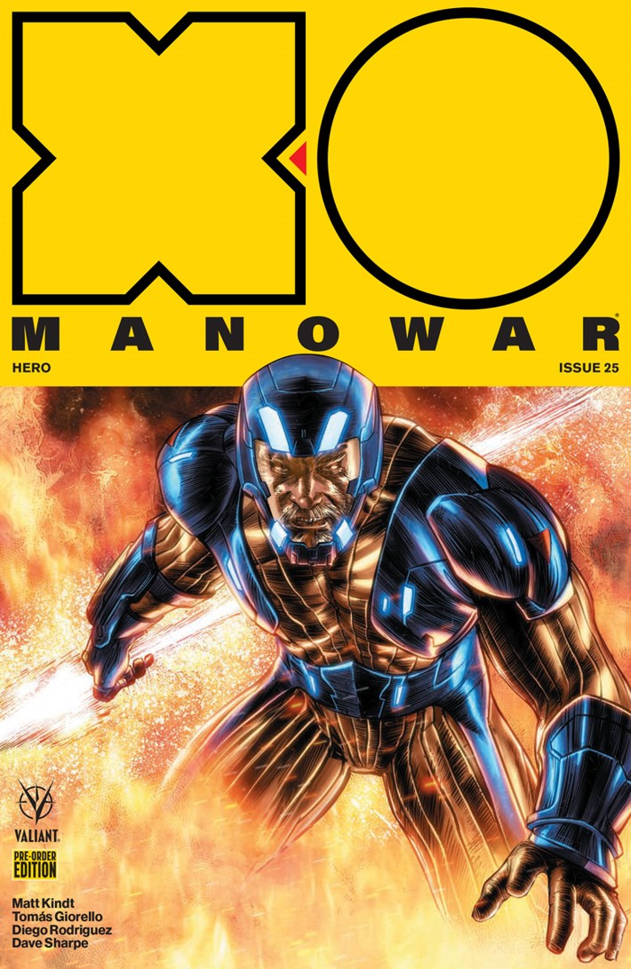 X-O PRE-ORDER COVER ComicList: Valiant Entertainment New Releases for 03/20/2019