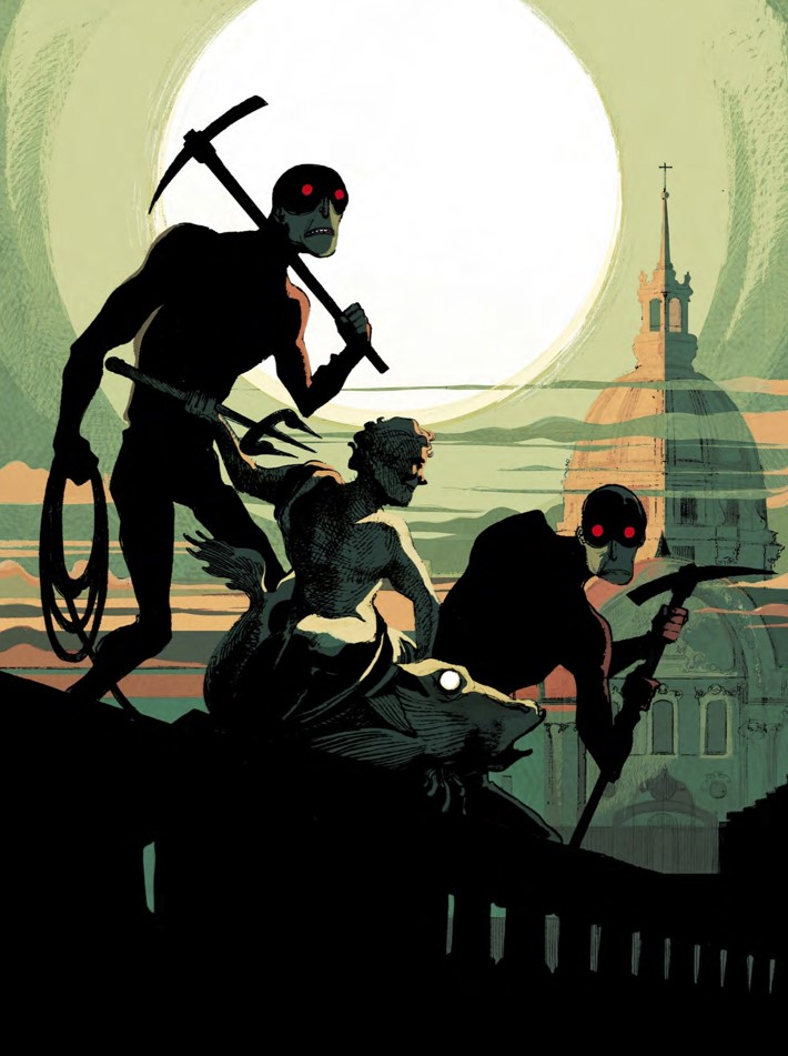 the_wrath_of_fantomas_lowres (dragged) 1 ComicList Previews: THE WRATH OF FANTOMAS HC
