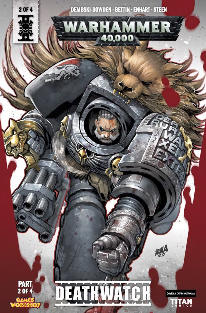 warhammer_40k_deathwatch_2_Cover A ComicList Previews: WARHAMMER 40000 DEATHWATCH #2