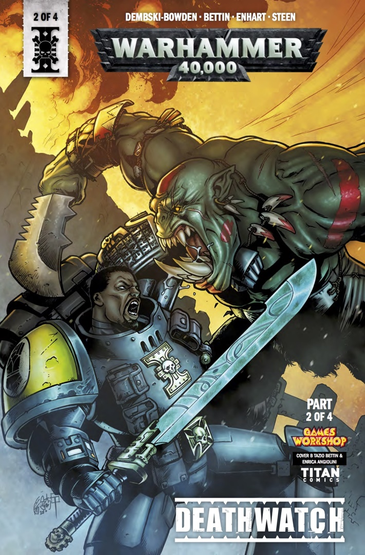 warhammer_40k_deathwatch_2_Cover B ComicList Previews: WARHAMMER 40000 DEATHWATCH #2