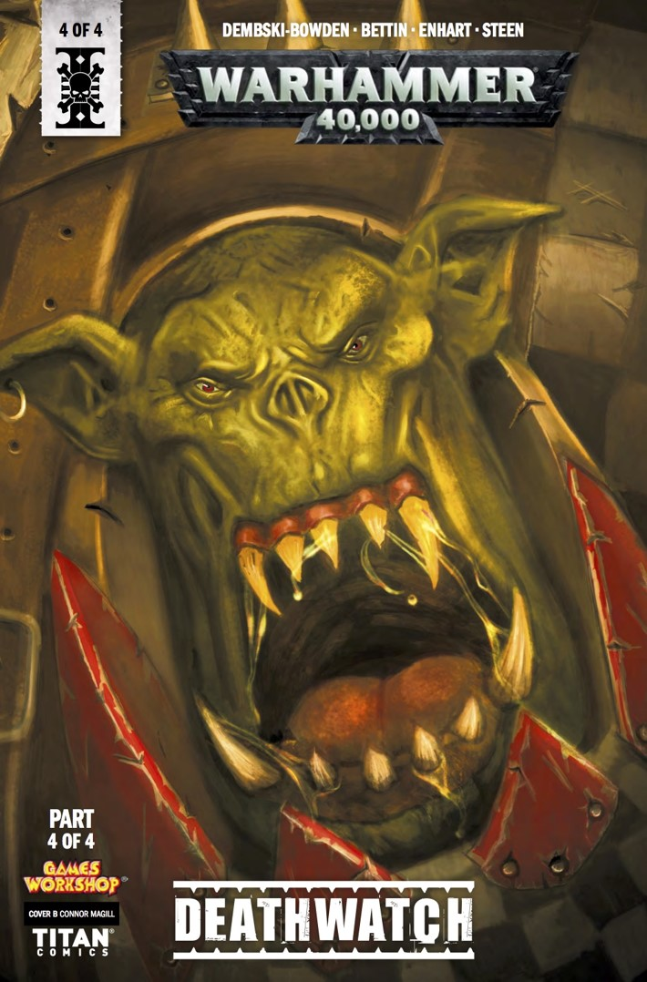 warhammer_40k_deathwatch_4_cover B ComicList Previews: WARHAMMER 40000 DEATHWATCH #4