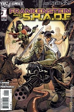 Frankenstein Agent Of S.H.A.D.E #1