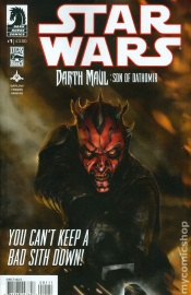 Star Wars Darth Maul Son Of Dathomir #1