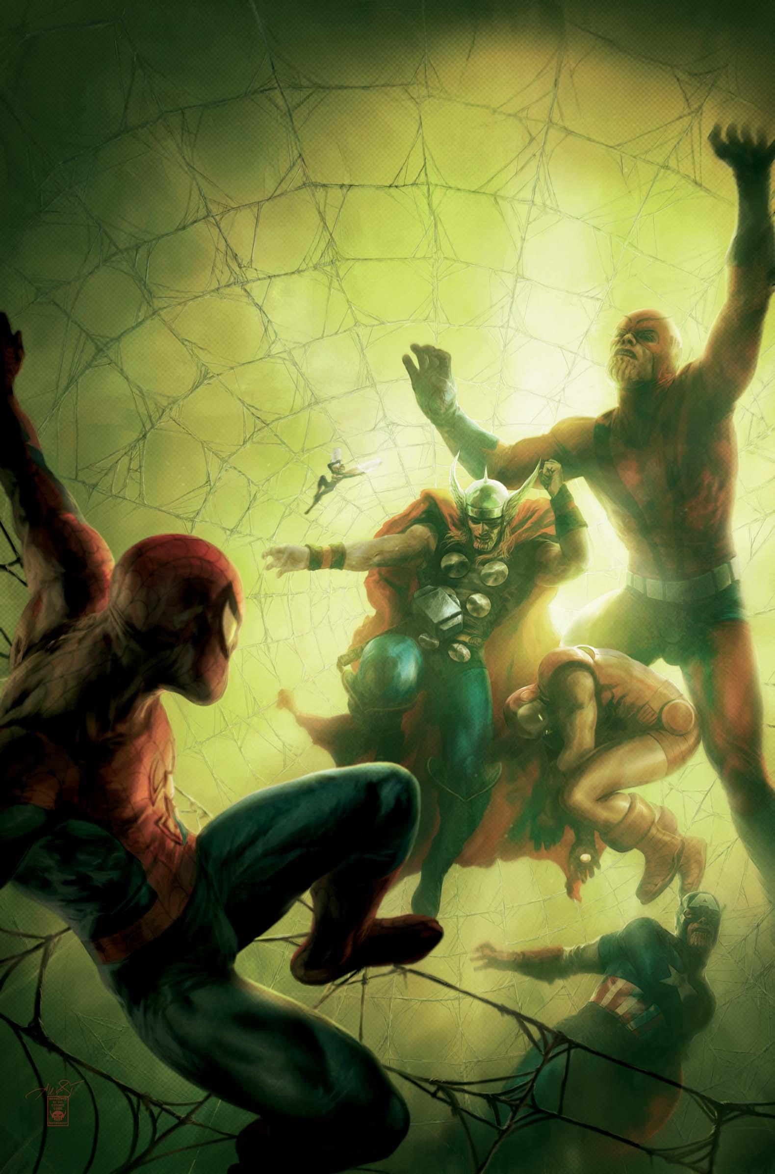 Marvel Comics May 2008...